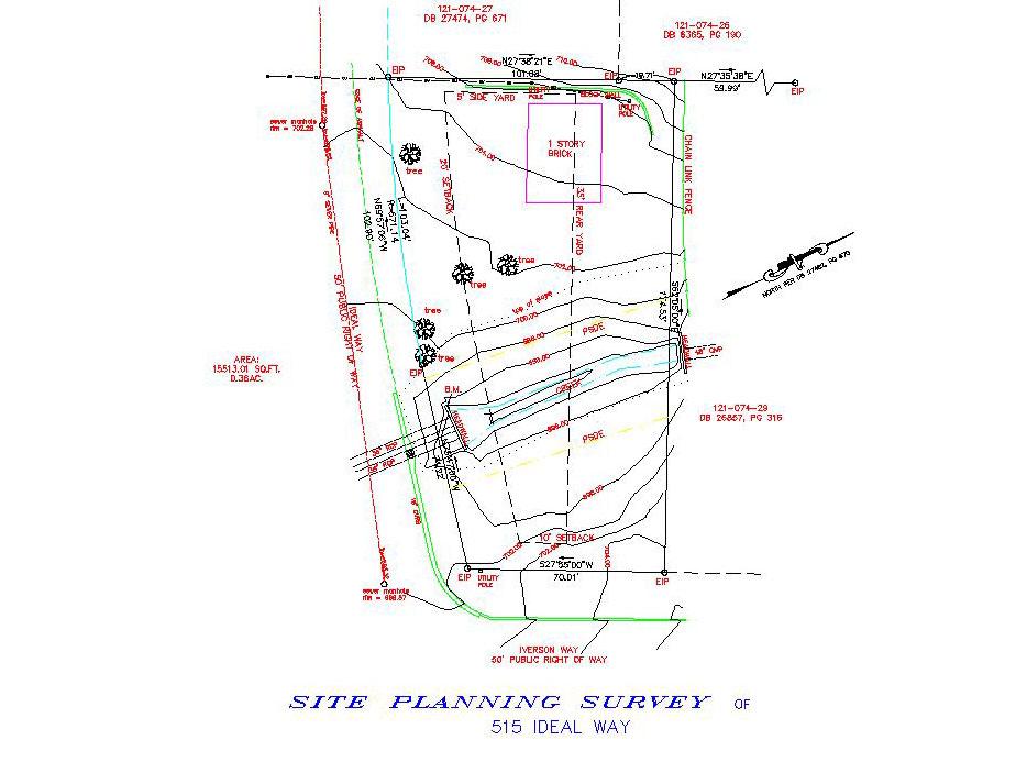 Types of Surveys – Site Plan Survey